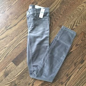 LOFT Modern Skinny Tall Corduroy Pants 00Tall NWT